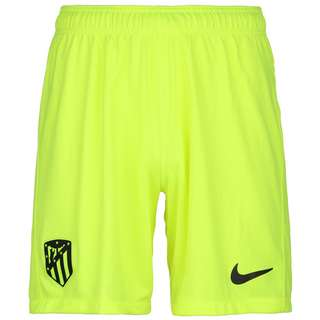 Nike Atletico Madrid Stadium 20/21 3rd Funktionsshorts Herren neongelb / schwarz