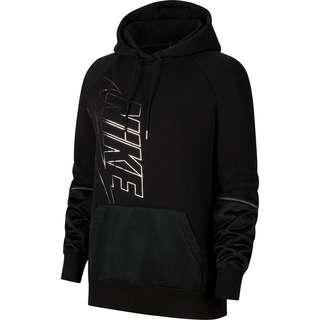 Nike NSW Hoodie Damen black-black-black-metallic silver