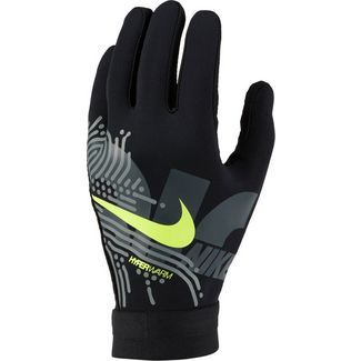 Nike Academy Hyperwarm Fleece Handschuhe black-white-volt