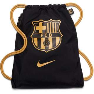 Nike FC Barcelona Turnbeutel black-truly gold-truly gold