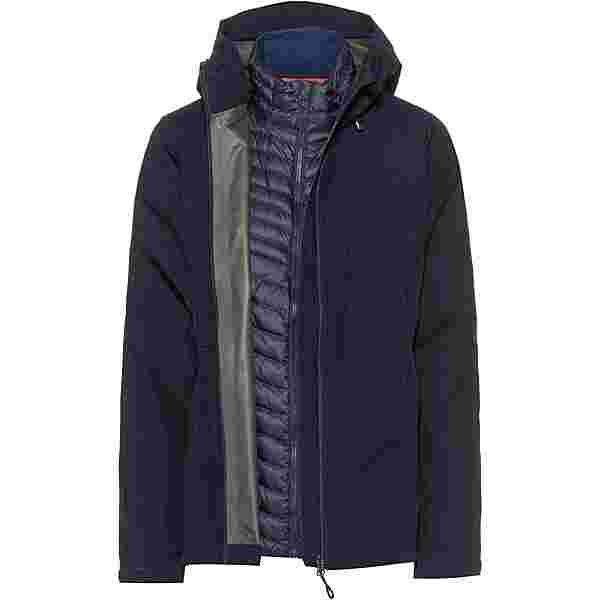 Mammut GORE-TEX Convey 3in1 Outdoorjacke Damen marine-marine