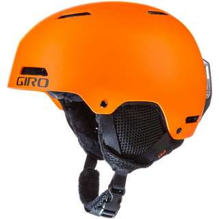 Giro Crue Skihelm Kinder matte bright orange