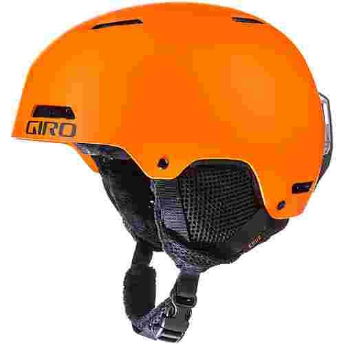 Giro Crue Skihelm Kinder matte bright orange