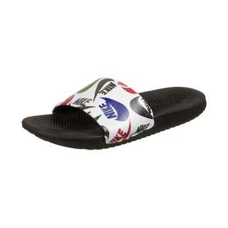 Nike Kawa Slide JDI Sandalen Kinder schwarz / weiß