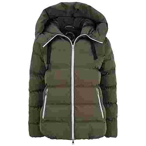 No.1 Como Dale Up Winterjacke Damen olive