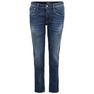 REPLAY Anbass Slim Straight Fit Jeans Herren dark blue