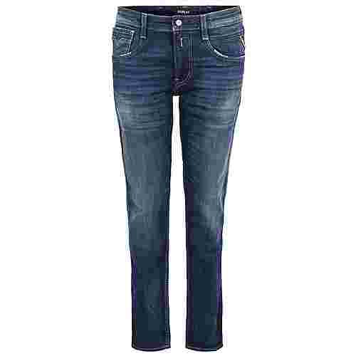 REPLAY Anbass Slim Straight Fit Jeans Herren dark blue
