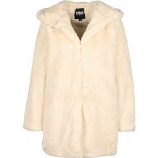 Urban Classics Hooded Teddy Windbreaker Damen beige