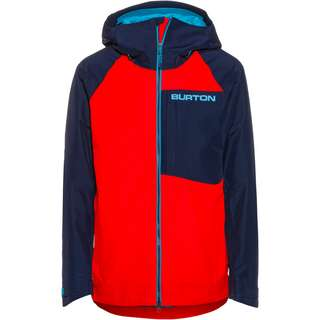 Burton GORE-TEX Radial Snowboardjacke Herren flame scarlet-dress blue