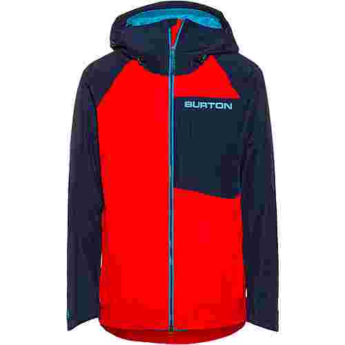 Burton GORE-TEX® Radial Snowboardjacke Herren flame scarlet/dress blue