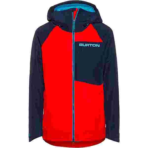 Burton GORE-TEX Radial Snowboardjacke Herren flame scarlet/dress blue