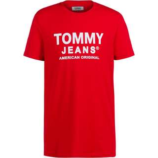 Tommy Hilfiger Essential T-Shirt Herren deep crimson