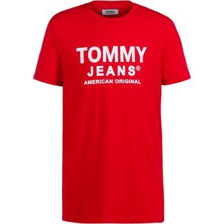 Tommy Hilfiger Essential T-Shirt Herren deep crimson