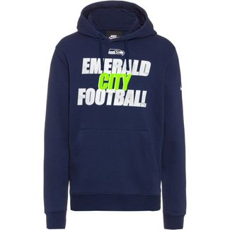 Nike Seattle Seahawks Hoodie Herren college navy