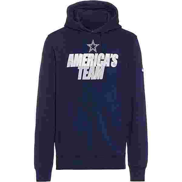 Nike Dallas Cowboys Hoodie Herren college navy