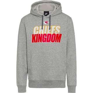 Nike Kansas City Chiefs Hoodie Herren dark grey heather
