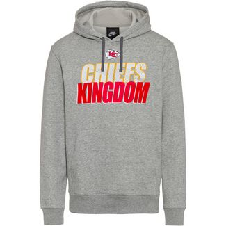 Nike Kansas City Chiefs Hoodie Herren dark grey heather