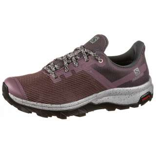 Salomon GTX OUTline Prism Wanderschuhe Damen flint-ebony-tropical peach