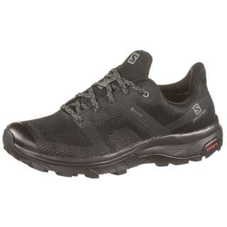 Salomon GTX® OUTline Prism Wanderschuhe Damen black-black-quiet shade