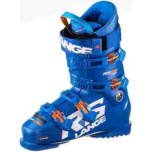 LANGE RS 110 Wide Skischuhe power blue