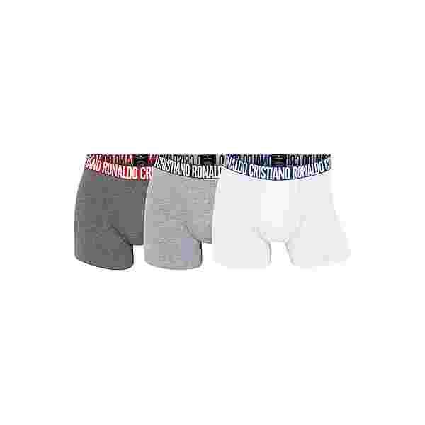 CR7 Cristiano Ronaldo CR7 Underwear Boxer Herren Grau/Weiss (669)