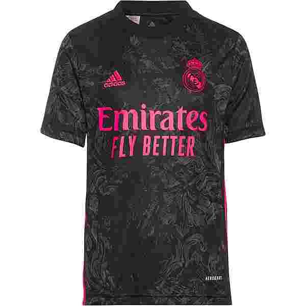 adidas Real Madrid 20-21 3rd Trikot Kinder black