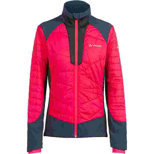 VAUDE Wo Minaki Jacket III Fahrradjacke Damen cranberry steelblue