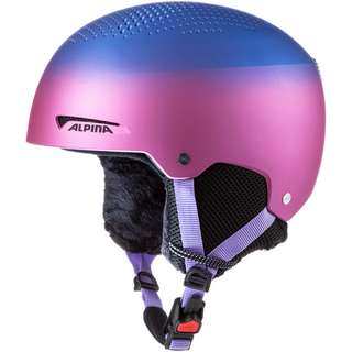 ALPINA ZUPO Skihelm Kinder flip flop purple matt