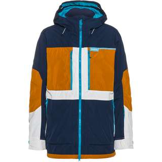 Burton Frostner Snowboardjacke Herren dress blue/true penny/stout white