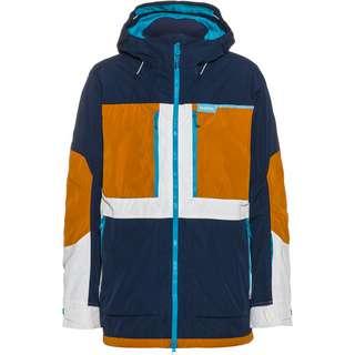 Burton Frostner Snowboardjacke Herren dress blue-true penny-stout white