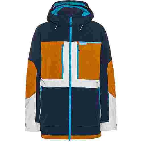 Burton Snowboardjacke Herren dress blue/true penny/stout white