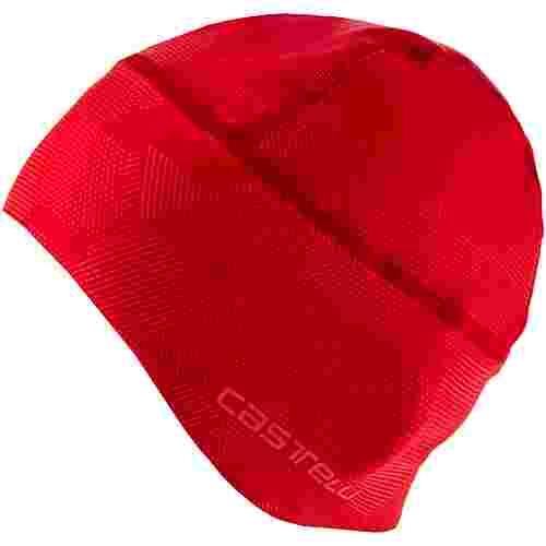 castelli PRO THERMAL SKULLY Helmmütze red