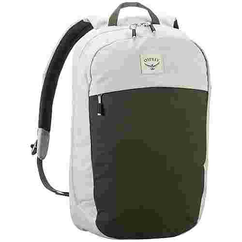 Osprey Rucksack Arcane Large Day Daypack lunar grey/haybale green