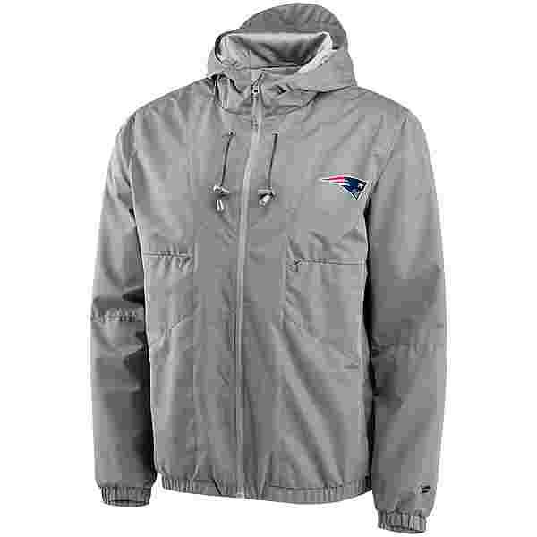 Fanatics New England Patriots Kapuzenjacke Herren grey