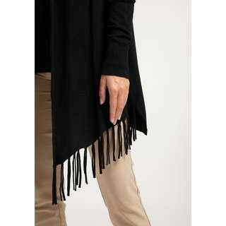 DreiMaster Strickjacke Damen schwarz