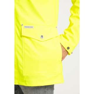 Schmuddelwedda Regenjacke Herren neon gelb