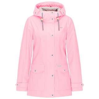 Schmuddelwedda Regenjacke Damen neon pink