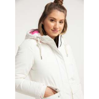 MYMO Winterjacke Damen wollweiss