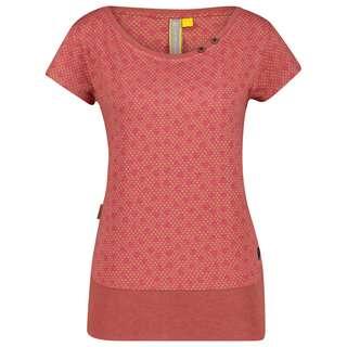ALIFE AND KICKIN CocoAK T-Shirt Damen mahagonium