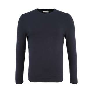 REPLAY Mesh Strickpullover Herren navy