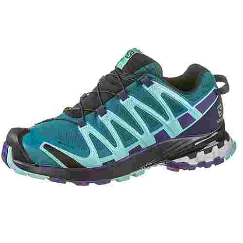 Salomon GTX® XA PRO 3D v8 Multifunktionsschuhe Damen shaded spruce-evening blue-meadowbr