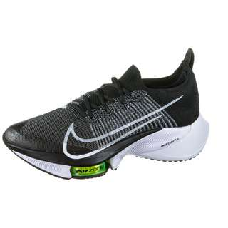 Nike AIR ZOOM TEMPO NEXT% Laufschuhe Herren black-white-volt