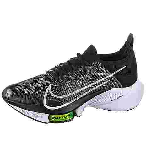 Nike AIR ZOOM TEMPO NEXT% Laufschuhe Herren black-white-volt