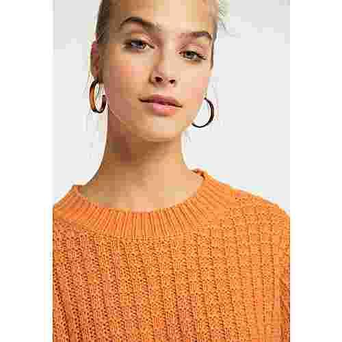 MYMO Strickpullover Damen orange
