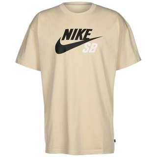 Nike Logo T-Shirt Herren beige