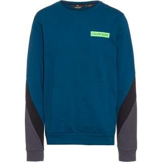 Calvin Klein Sweatshirt Herren majolica blue-ck black