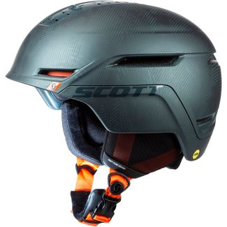 SCOTT Symbol 2 Plus Skihelm sombre green-pumpkin orange