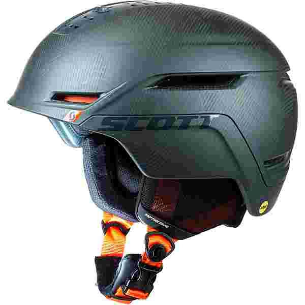 SCOTT Symbol 2 Plus Skihelm sombre green-pumpkin orange
