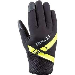 Roeckl GORE-TEX® Langlaufhandschuhe schwarz-gelb