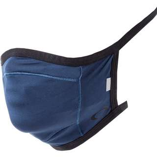 Oakley Face Covering Fitted Gesichtsmaske universal blue